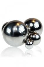 Balle métal vissable : L'accessoire à associer à votre sextoy métal pour varier les plaisirs.