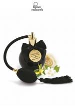 Parfum aphrodisiaque senteur florale : Brume de corps senteur Aphrodisiaque aux notes florales de rose et de jasmin par Bijoux Indiscrets.