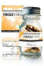 Provocateur d'�rection Virgile Viril (28 g�lules) - L'aphrodisiaque pour homme 100% bio, pour renforcer et prolonger l'�rection. Flacon de 28 g�lules.