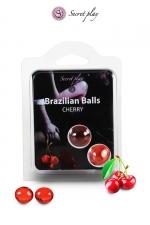 2 Brazilian Balls - cerise