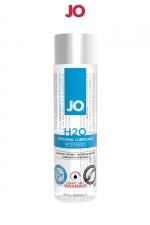 Lubrifiant H2O effet chaud 120 ml : Le lubrifiant de référence de System Jo, à base d'eau en version chauffante.