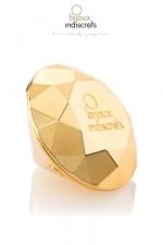 Stimulateur vibrant Twenty One : Un stimulateur vibrant en forme de diamant, dédié au plaisir clitoridien.