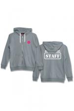 Veste à capuche J&M Staff gris