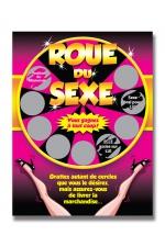 Carte à gratter roue du sexe