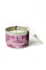 Bougie de massage Fruits de la Passion : Bougie de massage parfum Fruits de la Passion fabriquée en France pour des moments sensuels.