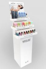 Pack présentoir sol MixGliss : Offre stock de lubrifiants Mixgliss variés + 1 testeur pour chaque variété,  1 display sol et 20 flyers offerts par référence.