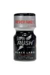 Poppers Super Rush Black Label 9 ml - Ar�me liquide aphrodisiaque (flacon de 10 ml)� base de Nitrite de Penthyl (le plus fort), pour aromatiser votre pi�ce.
